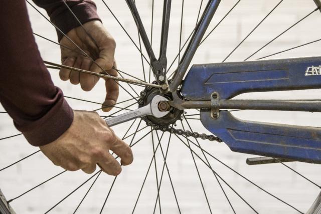 serraggio mozzo posteriore | corso ciclomeccanica