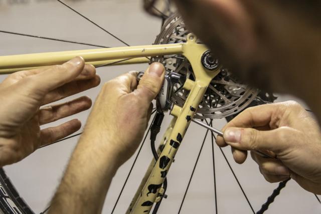 manutenzione pinza freno a disco | corso ciclomeccanica