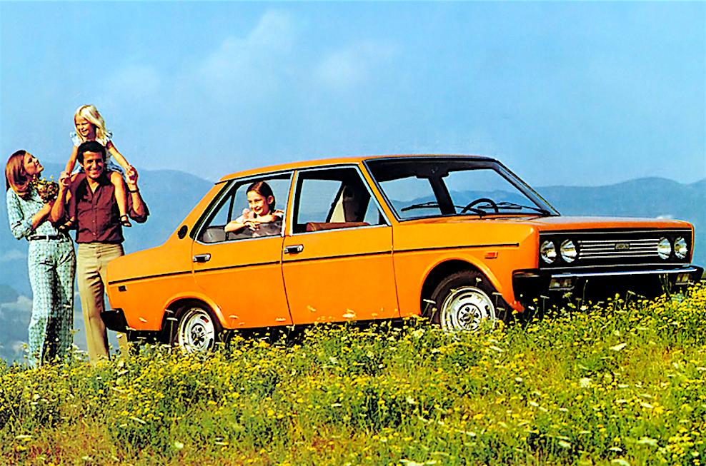 la FIAT 131 Mirafiori