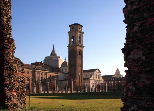 Torino - Il Duomo di San Giovanni e il suo campanile
