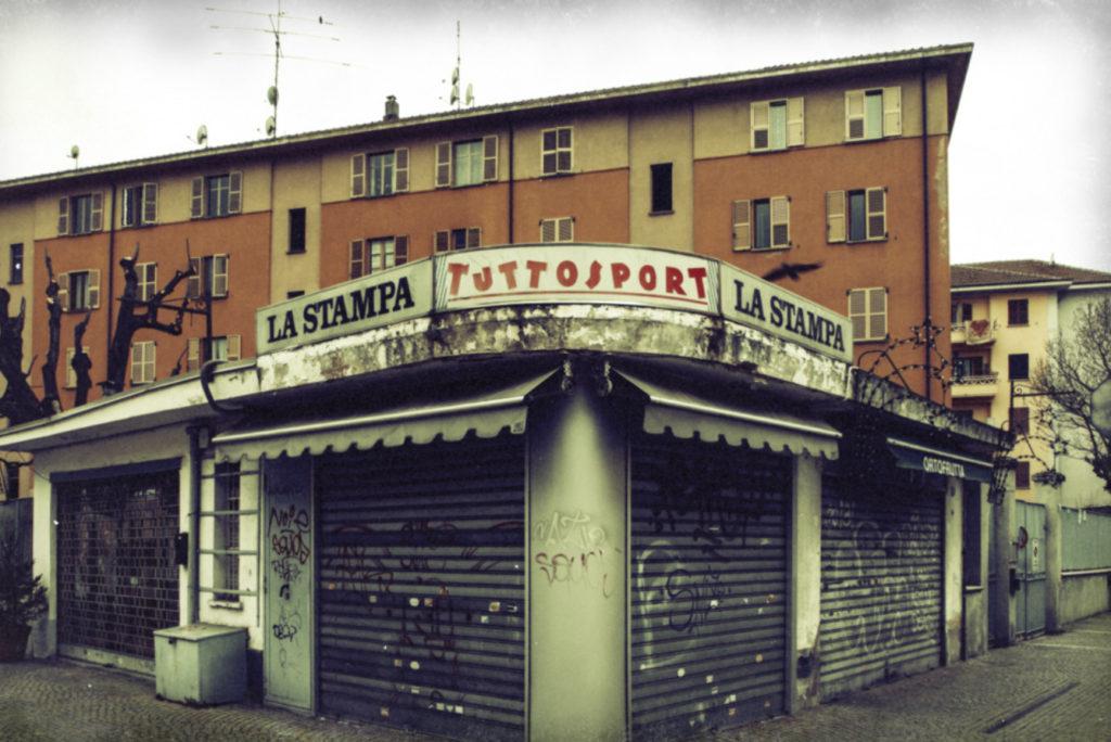 angolo del quartiere Mirafiori di Torino