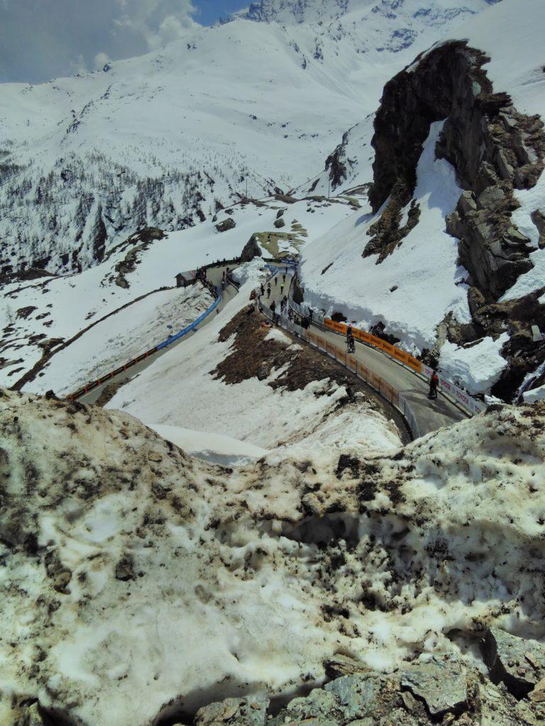 Ultimo chilometro della 19esima tappa del Giro d'Italia 2019, Pinerolo-Lago Serrù